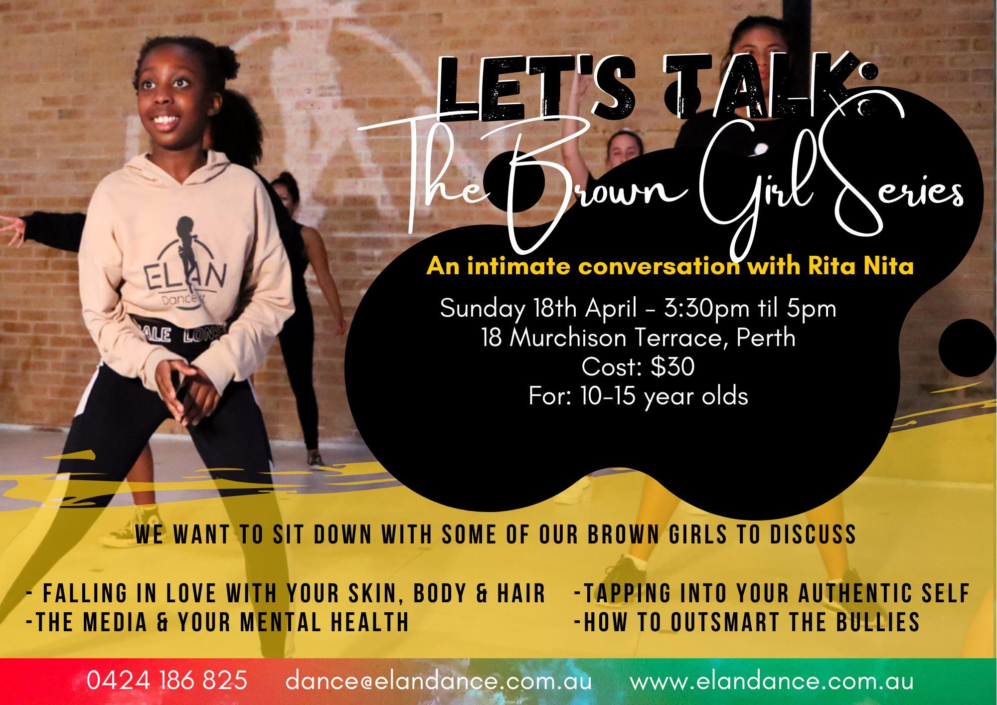 Raising Brown Girls Event Perth