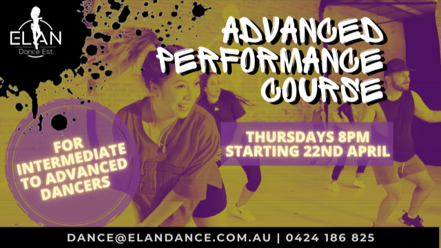 Performance dance course perth